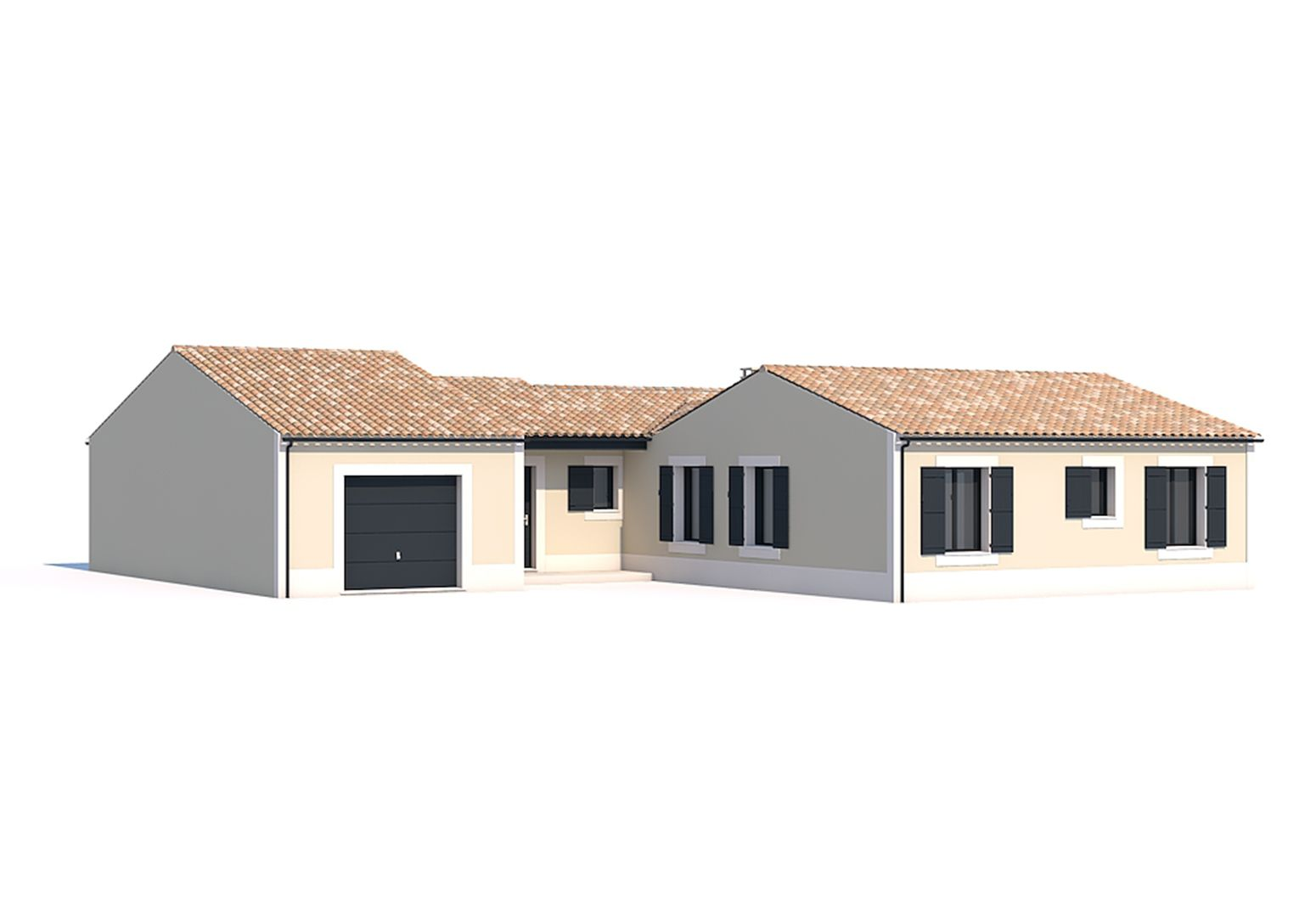 Maisons du constructeur SOLIS CONSTRUCTION - AGENCE DE NIORT • 138 m² • SAINT REMY