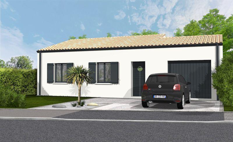Maisons du constructeur SOLIS CONSTRUCTION - AGENCE DE NIORT • 85 m² • MOUGON