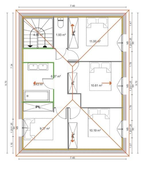 Maisons du constructeur VILLAS PRISME • 115 m² • VENTABREN