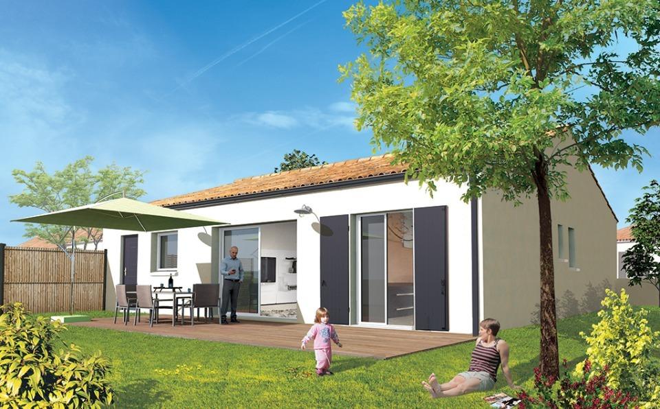 Maisons + Terrains du constructeur Maisons ACCO Agence de ROCHEFORT • 80 m² • TRIZAY
