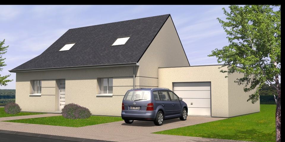 Maisons + Terrains du constructeur MAISONS BERNARD JAMBERT • 104 m² • LE PIN