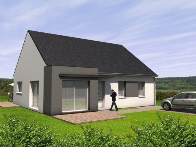 Maisons + Terrains du constructeur MAISONS BERNARD JAMBERT • 98 m² • ANETZ