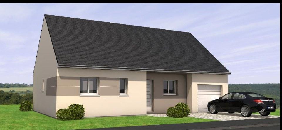 Maisons + Terrains du constructeur MAISONS BERNARD JAMBERT • 80 m² • LA ROCHE BLANCHE