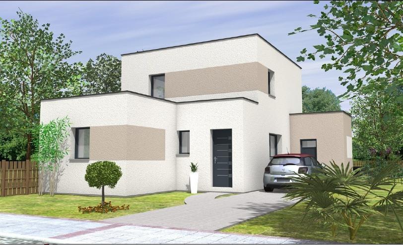 Maisons + Terrains du constructeur MAISONS BERNARD JAMBERT • 93 m² • LA CHAPELLE SAINT SAUVEUR