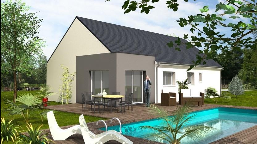 Maisons + Terrains du constructeur MAISONS BERNARD JAMBERT • 100 m² • LE PIN