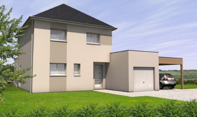 Maisons + Terrains du constructeur MAISONS BERNARD JAMBERT • 125 m² • LA CHAPELLE SAINT SAUVEUR