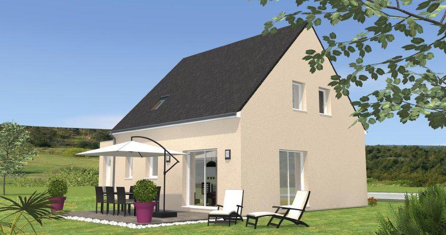 Maisons + Terrains du constructeur MAISONS BERNARD JAMBERT • 96 m² • LA CHAPELLE SAINT SAUVEUR
