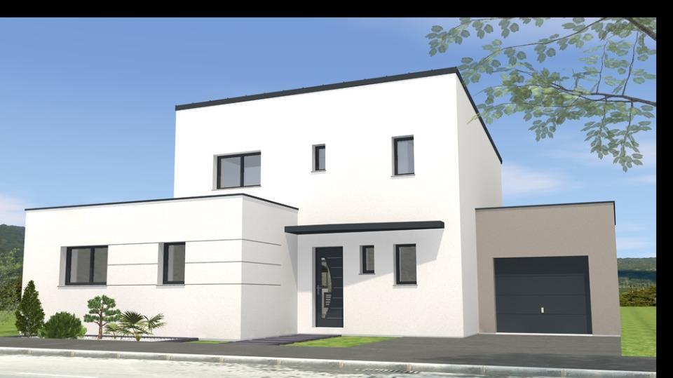 Maisons + Terrains du constructeur MAISONS BERNARD JAMBERT • 129 m² • LE PIN