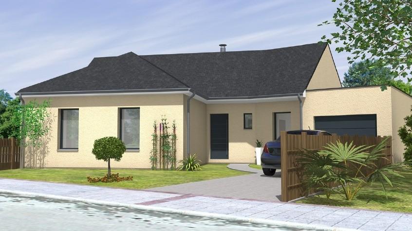 Maisons + Terrains du constructeur MAISONS BERNARD JAMBERT • 114 m² • LE PIN