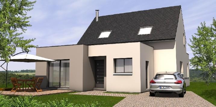 Maisons + Terrains du constructeur MAISONS BERNARD JAMBERT • 117 m² • LA ROCHE BLANCHE