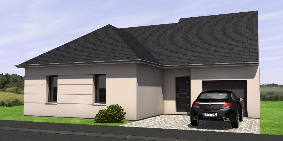 Maisons + Terrains du constructeur MAISONS BERNARD JAMBERT • 103 m² • LA ROCHE BLANCHE