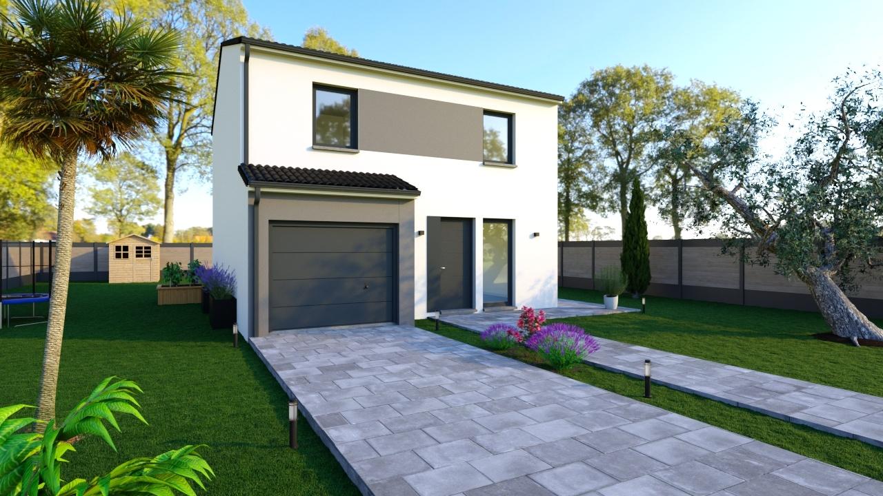 Maisons + Terrains du constructeur Maisons Phenix Andrezieux Boutheon • 102 m² • CHAZELLES SUR LYON