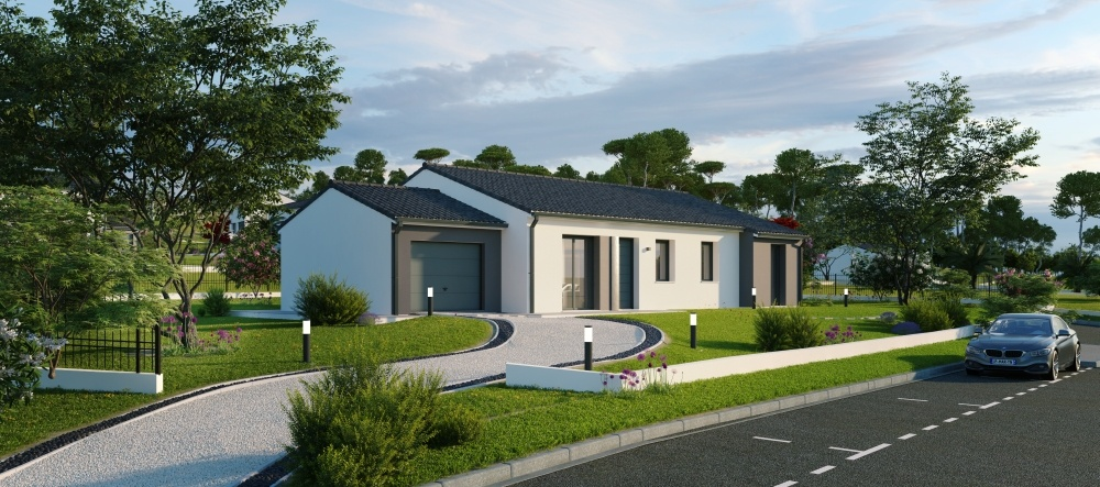 Maisons + Terrains du constructeur Maisons Phenix Andrezieux Boutheon • 119 m² • SAINT CYR LES VIGNES