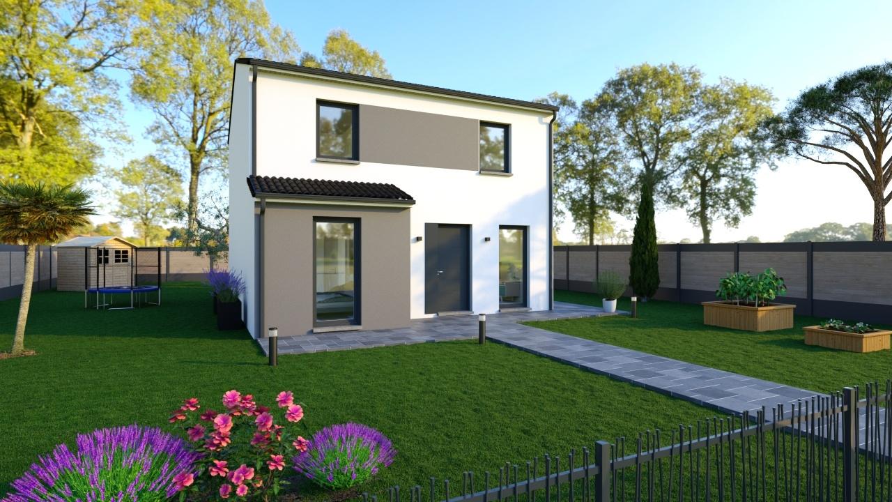 Maisons + Terrains du constructeur Maisons Phenix Andrezieux Boutheon • 118 m² • SURY LE COMTAL
