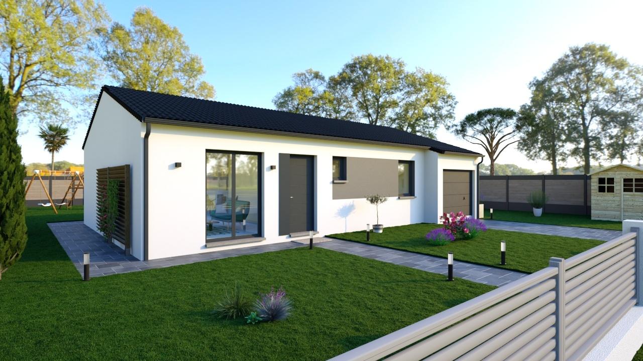 Maisons + Terrains du constructeur Maisons Phenix Andrezieux Boutheon • 89 m² • MONTVERDUN