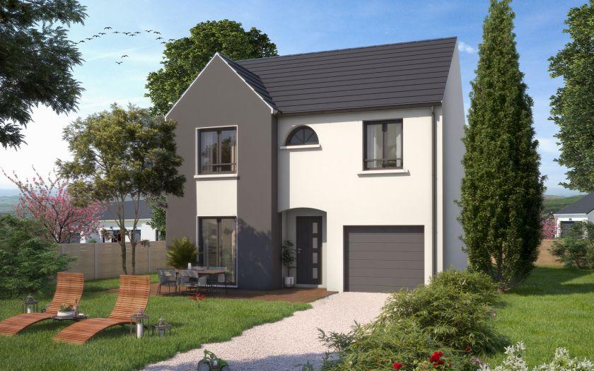 Maisons + Terrains du constructeur MAISONS SESAME • 110 m² • ERMONT