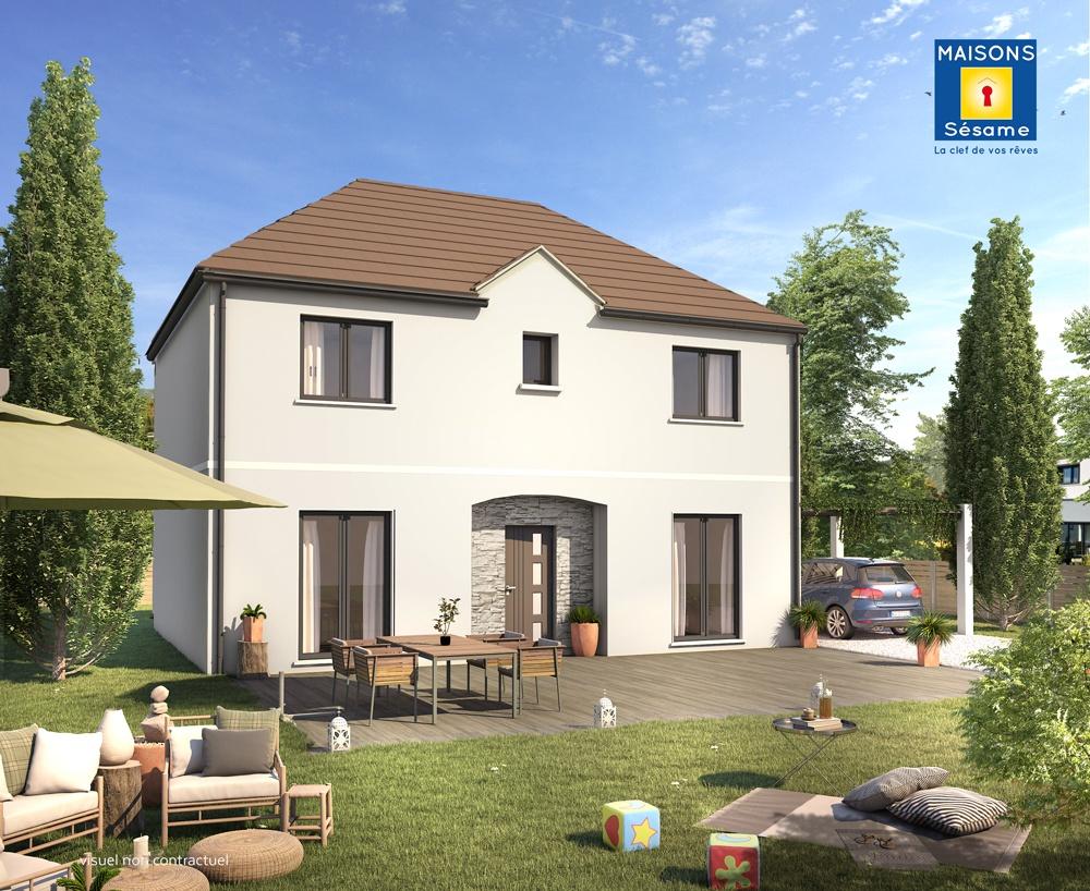 Maisons + Terrains du constructeur MAISONS SESAME • 105 m² • ARGENTEUIL