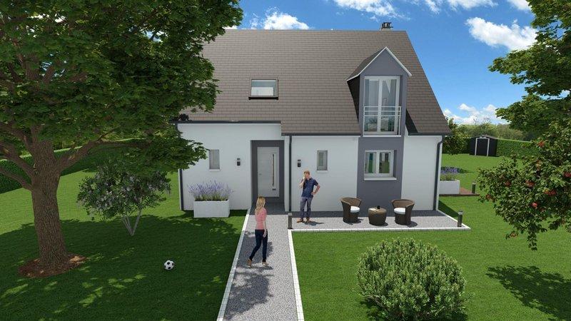 Maisons du constructeur MAISONS FRANCE STYLE • 110 m² • CONDE SUR VESGRE