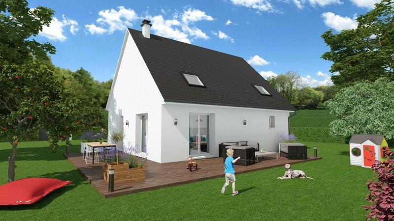 Maisons du constructeur MAISONS FRANCE STYLE • 90 m² • NOGENT LE ROI