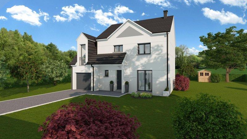 Maisons du constructeur MAISONS FRANCE STYLE • 104 m² • HOUDAN