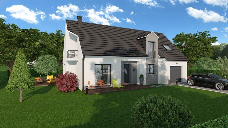 Maisons du constructeur MAISONS FRANCE STYLE • 125 m² • MONTFORT L'AMAURY