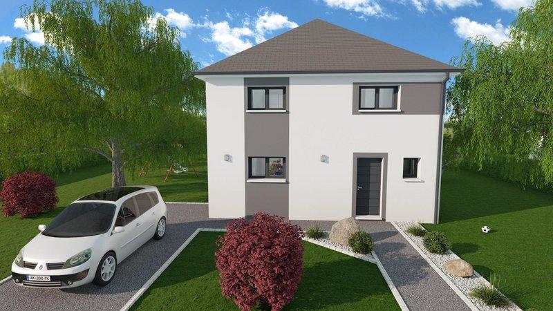 Maisons du constructeur MAISONS FRANCE STYLE • 100 m² • DREUX