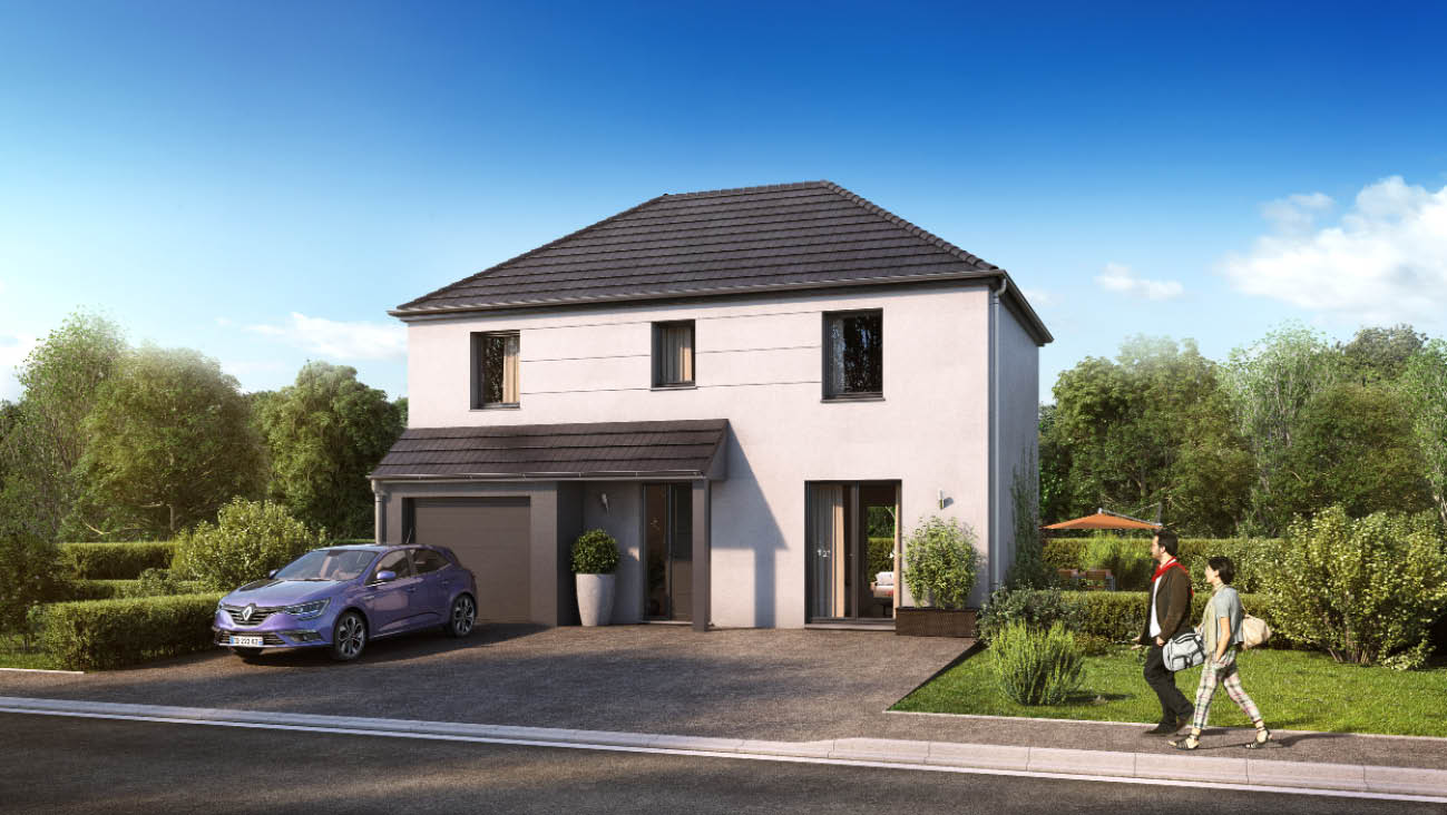Maisons + Terrains du constructeur MAISON FAMILIALE • 102 m² • ECOUEN
