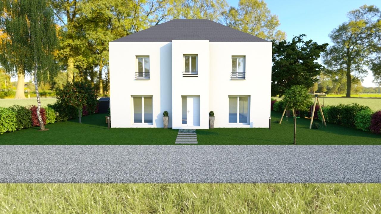 Maisons + Terrains du constructeur MAISON FAMILIALE • 139 m² • ECOUEN