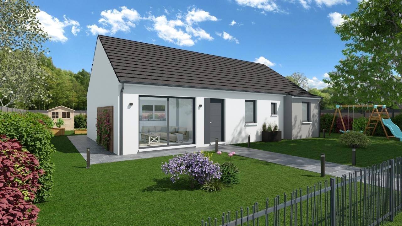Maisons + Terrains du constructeur Maisons PHENIX Lisieux • 105 m² • MEZIDON CANON