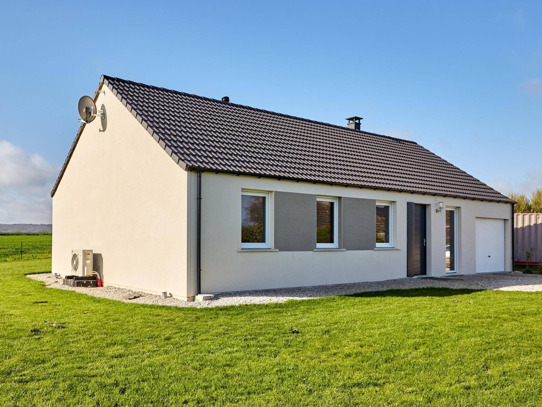 Maisons + Terrains du constructeur Maisons Phénix Le Havre • 90 m² • SAINT VIGOR D'YMONVILLE