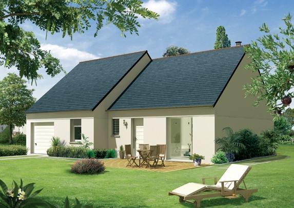 Maisons + Terrains du constructeur Maison Familiale Wizernes • 81 m² • WIRWIGNES