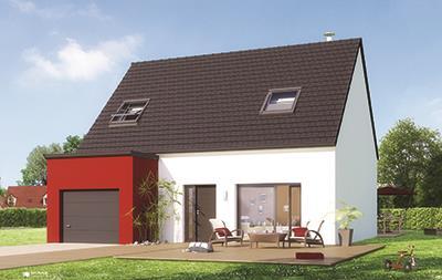 Maisons + Terrains du constructeur Maison Familiale Wizernes • 105 m² • MENNEVILLE