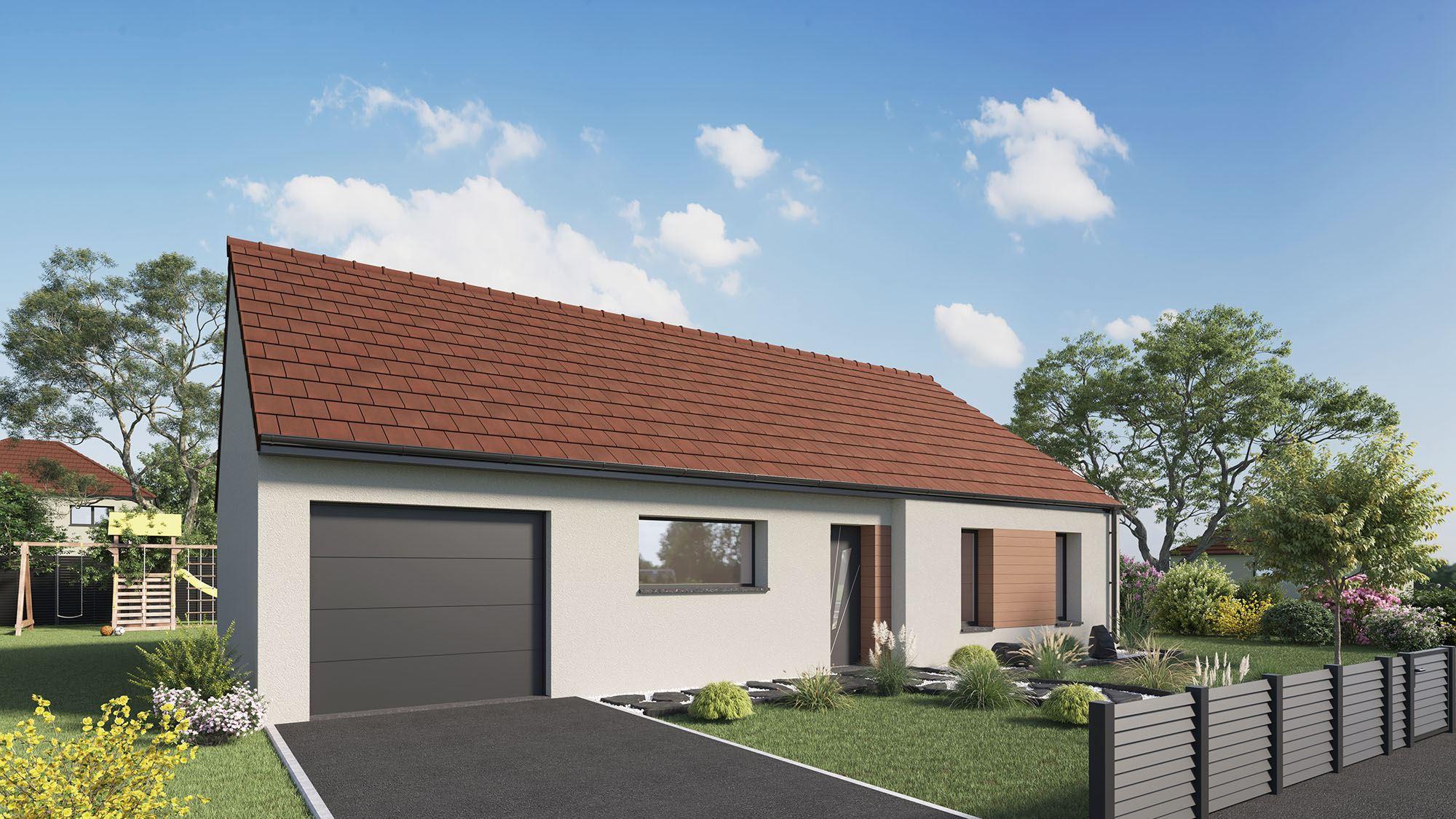 Maisons + Terrains du constructeur Maison Castor St Omer • 96 m² • AIRE SUR LA LYS