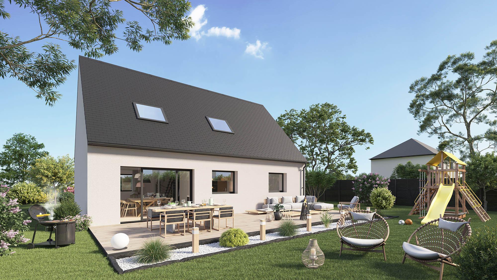 Maisons + Terrains du constructeur Maison Castor St Omer • 105 m² • BOLLEZEELE