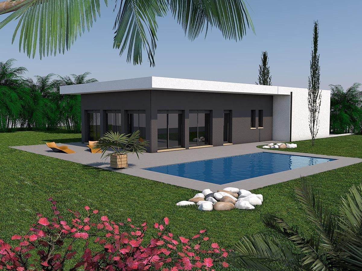 Maisons + Terrains du constructeur LES MAISONS SOFIA • 100 m² • GAILLAC