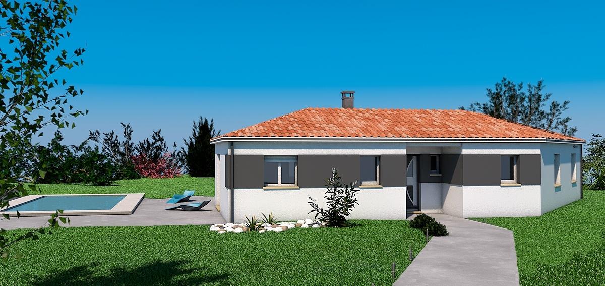 Maisons + Terrains du constructeur LES MAISONS SOFIA • 95 m² • COUFOULEUX