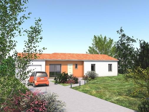 Maisons + Terrains du constructeur LES MAISONS SOFIA • 86 m² • GAILLAC