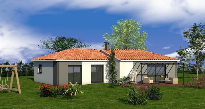 Maisons + Terrains du constructeur LES MAISONS SOFIA • 106 m² • LISLE SUR TARN