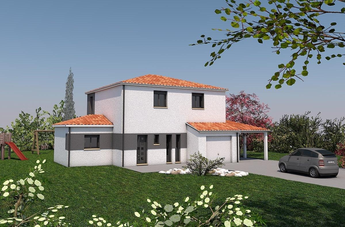 Maisons + Terrains du constructeur LES MAISONS SOFIA • 132 m² • AMBRES