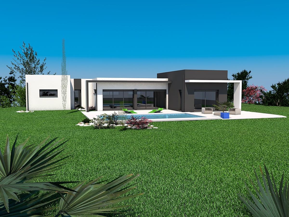 Maisons + Terrains du constructeur LES MAISONS SOFIA • 109 m² • AMBRES