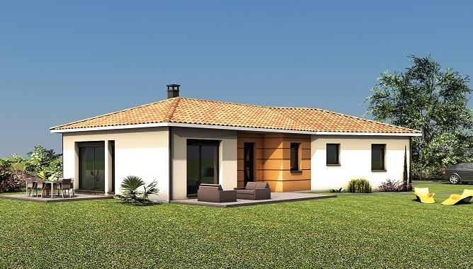 Maisons + Terrains du constructeur LES MAISONS SOFIA • 107 m² • BRENS