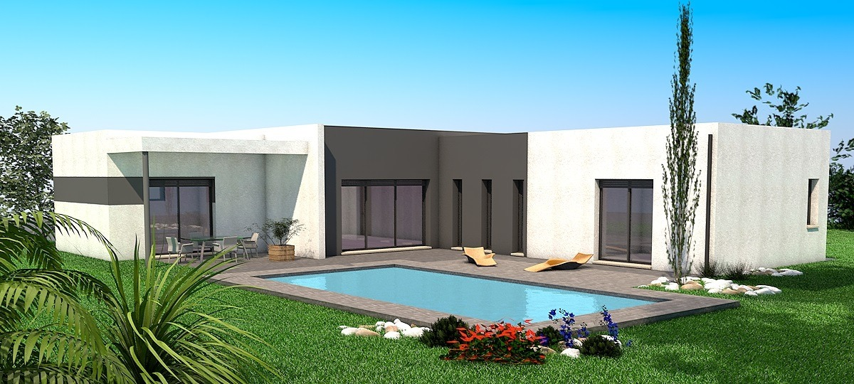 Maisons + Terrains du constructeur LES MAISONS SOFIA • 105 m² • BRENS