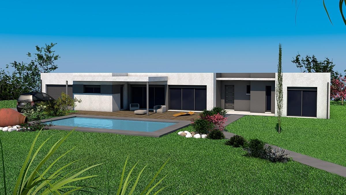 Maisons + Terrains du constructeur LES MAISONS SOFIA • 131 m² • SAINT SULPICE