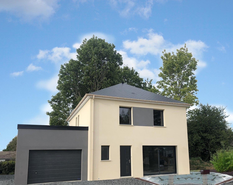 Maisons + Terrains du constructeur Maison Familiale Rouen • 120 m² • ESLETTES