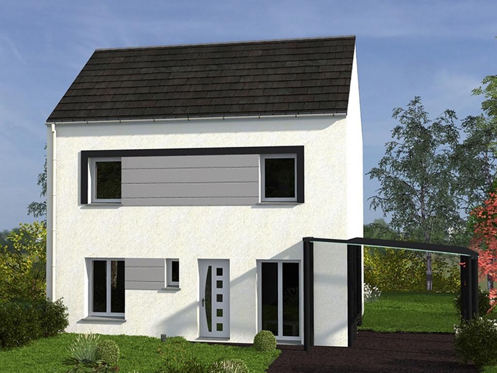 Maisons + Terrains du constructeur Les Maisons Lelievre • 101 m² • SAINTE GENEVIEVE