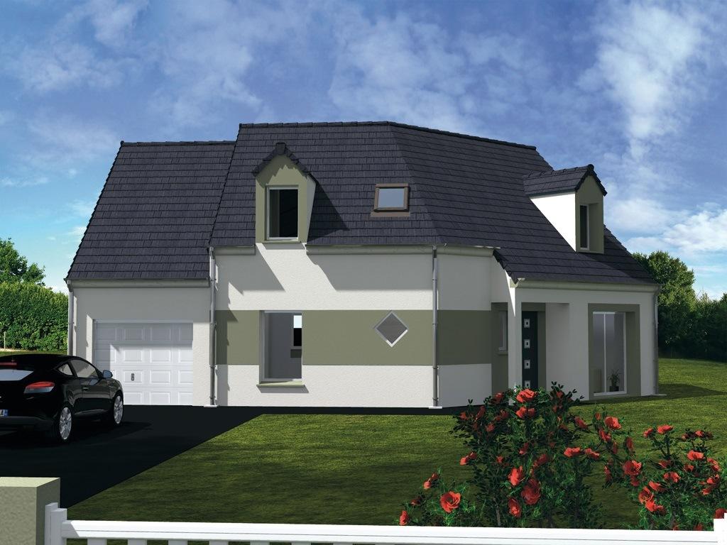 Maisons + Terrains du constructeur Les Maisons Lelievre • 105 m² • CHAUMONT EN VEXIN