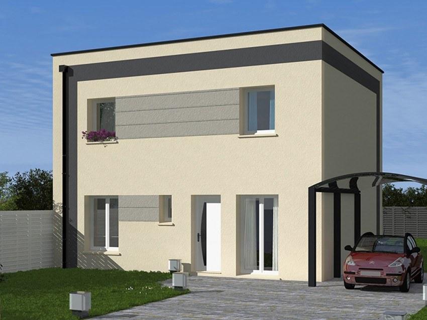 Maisons + Terrains du constructeur Les Maisons Lelievre • 101 m² • SARCELLES