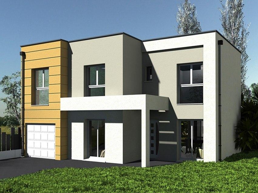 Maisons + Terrains du constructeur Les Maisons Lelievre • 130 m² • MERY SUR OISE