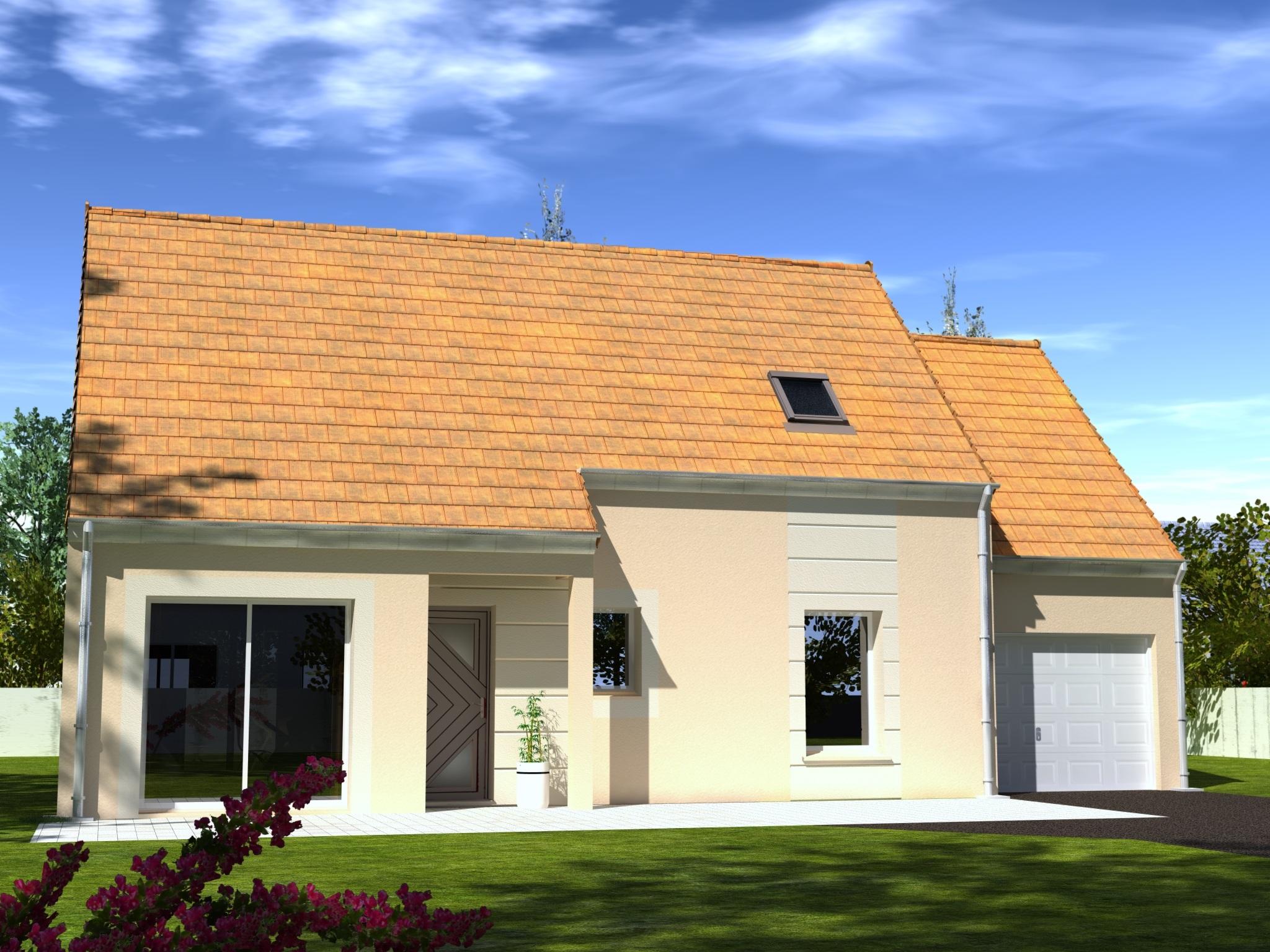 Maisons + Terrains du constructeur Les Maisons Lelievre • 98 m² • CHARTRES