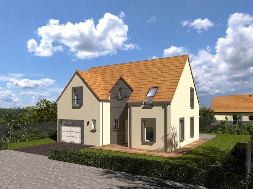 Maisons + Terrains du constructeur Les Maisons Lelievre • 95 m² • FONTAINE LA GUYON